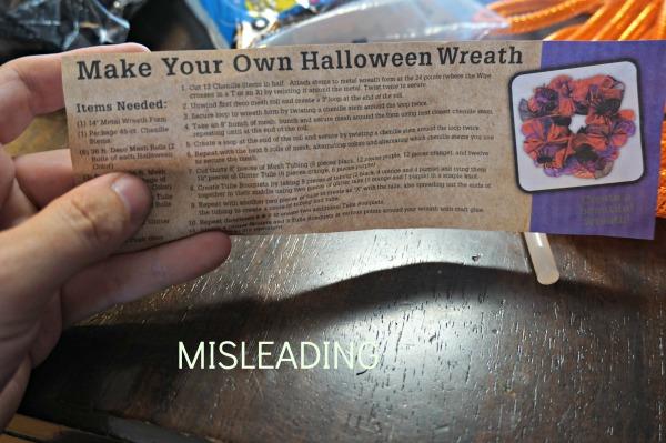 misleading